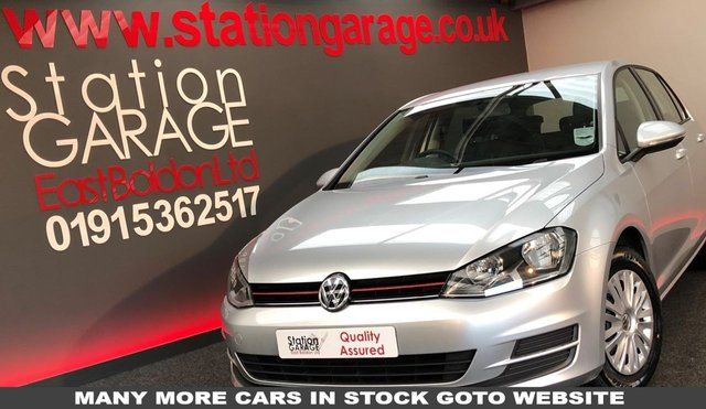 2013 13 VOLKSWAGEN GOLF 1.2 S TSI BLUEMOTION TECHNOLOGY 5d 84 BHP  DAB