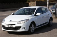 USED 2011 61 RENAULT MEGANE 1.6 DYNAMIQUE TOMTOM VVT 5d 110 BHP +++ FREE 6 months Autoguard Warranty included in screen price +++