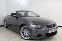 USED 2009 09 BMW 3 SERIES 3.0 325I M SPORT 2DR 215 BHP FULL SERVICE HISTORY + HEATED LEATHER SEATS + PARKING SENSOR + CRUISE CONTROL + MULTI FUNCTION WHEEL + CLIMATE CONTROL + 18 INCH ALLOY WHEELS