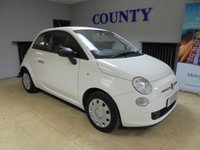 USED 2013 13 FIAT 500 1.2 POP 3d 69 BHP * LOW MILES * TWO OWNERS *