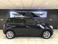 2012 MINI COUNTRYMAN 1.6 COOPER D 5d 112 BHP £5495.00