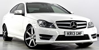2013 MERCEDES-BENZ C CLASS 2.1 C220 CDI BlueEFFICIENCY AMG Sport 7G-Tronic Plus 2dr £14495.00