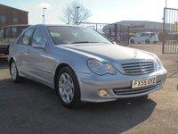 2005 MERCEDES-BENZ C CLASS 1.8 C180 KOMPRESSOR ELEGANCE SE 4d AUTO 141 BHP £2695.00