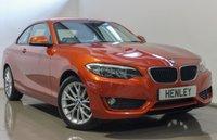 2014 BMW 2 SERIES 2.0 218D SE 2d 141 BHP £11990.00