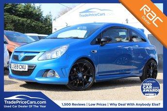 2009 VAUXHALL CORSA 1.6 VXR 3d 192 BHP £6250.00