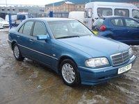 1997 MERCEDES-BENZ C CLASS 1.8 C180 ELEGANCE 4d AUTO 121 BHP £795.00