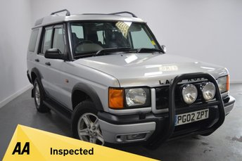 2002 LAND ROVER DISCOVERY}