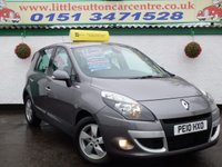 2010 RENAULT SCENIC 1.5 DYNAMIQUE TOMTOM DCI 5d 105 BHP £4599.00