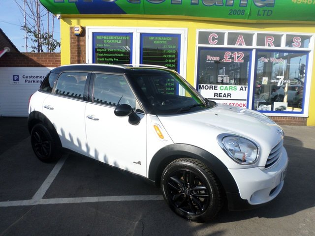 USED 2012 62 MINI COUNTRYMAN 1.6 COOPER D ALL4 5d 112 BHP JUST ARRIVED MINI MPV