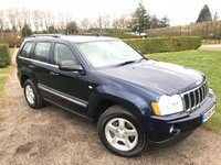 2006 JEEP GRAND CHEROKEE 3.0 V6 CRD LIMITED 5d AUTO 215 BHP Full Service History MOT 02/19 £6995.00