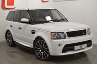 USED 2010 60 LAND ROVER RANGE ROVER SPORT 3.0 TDV6 HSE 5d AUTO 245 BHP AUTOBIOGRAPHY KIT + TV + NAV + LOW MILES + 22 INCH ALLOYS