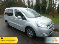 USED 2013 13 CITROEN BERLINGO MULTISPACE 1.6 E-HDI AIRDREAM VTR EGS 5d AUTO 91 BHP WHEELCHAIR ACCESS Rare Berlingo Multispace Automatic with Five Seats Plus Wheelchair Ramp, Air Conditioning, Cruise Control , Sliding Rear Doors and Citroen Service History.