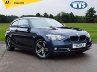 2013 BMW 1 SERIES 2.0 116D SPORT 3d 114 BHP £8699.00