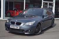 USED 2008 08 BMW 5 SERIES 2.0 520D M SPORT TOURING 5d 175 BHP
