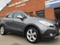 USED 2014 63 VAUXHALL MOKKA 1.4 EXCLUSIV S/S 5d 138 BHP Full service history, Cloth upholstery,          Heated front seats,         Heated steering wheel,         Bluetooth,        DAB Radio,        Front and rear parking sensors