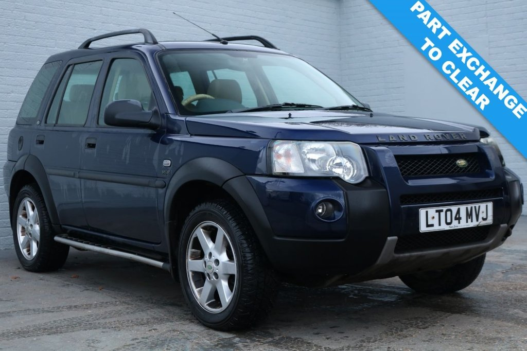 2004 04 LAND ROVER FREELANDER 2.0 TD4 HSE STATION WAGON 5d 110 BHP