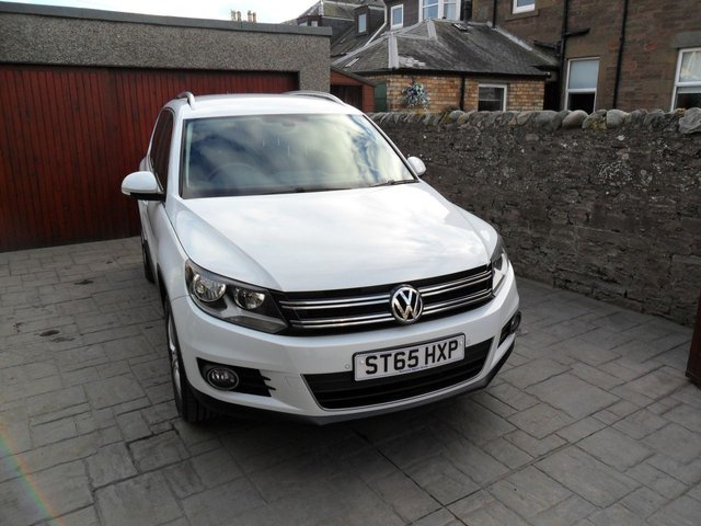 2015 65 VOLKSWAGEN TIGUAN 2.0 MATCH TDI BLUEMOTION TECHNOLOGY 4MOTION 5d 148 BHP