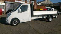USED 2011 61 VAUXHALL MOVANO 2.3 F3500 L3H1 CDTI 1d 99 BHP LWB  DROP SIDE 1 OWNER F/S/H \ FREE 12 MONTHS WARRANTY COVER ///