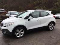 USED 2014 63 VAUXHALL MOKKA 1.7 TECH LINE CDTI S/S 5d 128 BHP, only 33000 miles ***GREAT FINANCE DEALS AVAILABLE***