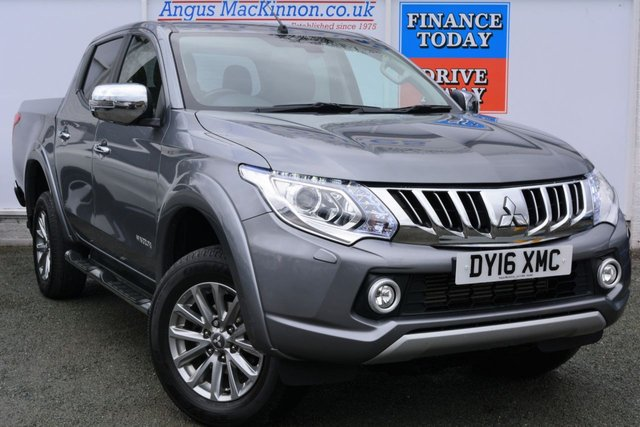 2016 16 MITSUBISHI L200 2.4 DI-D 4X4 WARRIOR Double Cab 5 Seat Pickup High Spec with Leather and Sat Nav