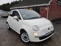 2014 FIAT 500 1.2 LOUNGE 3dr £6490.00