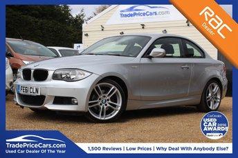 2011 BMW 1 SERIES 2.0 120I M SPORT 2d 168 BHP £9450.00