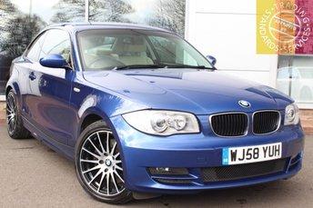 2008 BMW 1 SERIES 2.0 123D SE 2d 202 BHP £5000.00