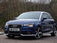 USED 2012 12 AUDI A1 1.6 TDI CONTRAST EDITION 3d 105 BHP