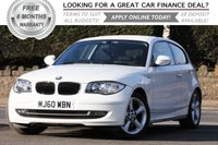 USED 2010 60 BMW 1 SERIES 2.0 116I SPORT 3d 121 BHP +++ FREE 6 months Autoguard Warranty included in screen price +++