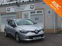 USED 2015 64 RENAULT CLIO 1.5 EXPRESSION PLUS ENERGY DCI ECO2 S/S 5d 90 BHP 3 service stamps , Bluetooth , Start /stop Full Size Spare
