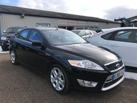 USED 2010 60 FORD MONDEO 2.0 TITANIUM X SPORT 5d AUTO 201 BHP 1/2 LEATHER, CLIMATE, P/SENSORS, 2 KEEPERS