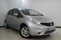 USED 2014 14 NISSAN NOTE 1.2 ACENTA 5DR 80 BHP FULL NISSAN SERVICE HISTORY + BLUETOOTH + CRUISE CONTROL + MULTI FUNCTION WHEEL + AIR CONDITIONING + RADIO/CD + 15 INCH ALLOY WHEELS