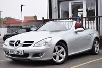 USED 2007 07 MERCEDES-BENZ SLK 1.8 SLK200 KOMPRESSOR 2d 161 BHP Full Service History 11 Service Stamps.New Mot Test