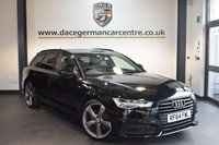 USED 2015 64 AUDI A6 2.0 AVANT TDI ULTRA S LINE BLACK EDITION 5DR 188 BHP + HALF LEATHER INTERIOR + 1 OWNER FROM NEW + FULL AUDI SERVICE HISTORY + SATELLITE NAVIGATION + BLUETOOTH + SPORT SEATS + CRUISE CONTROL + DAB RADIO + PARKING SENSORS + 18 INCH ALLOY WHEELS +