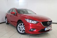 USED 2014 14 MAZDA 6 2.2 D SE-L NAV 5DR AUTOMATIC 148 BHP MAZDA SERVICE HISTORY+ SAT NAVIGATION + BLUETOOTH + PARKING SENSOR + CRUISE CONTROL + MULTI FUNCTION WHEEL + CLIMATE CONTROL + 17 INCH ALLOY WHEELS