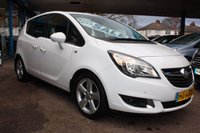 USED 2015 15 VAUXHALL MERIVA 1.4 TECH LINE 5dr 99 BHP 2 OWNERS | SERVICE HISTORY | FINANCE AVAILABLE