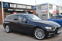 USED 2014 14 BMW 3 SERIES 3.0 330D XDRIVE LUXURY TOURING 5d AUTO 255 BHP BIG SPEC, 1 OWNER, FBMWSH