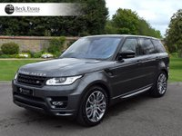 USED 2016 66 LAND ROVER RANGE ROVER SPORT 4.4 SDV8 AUTOBIOGRAPHY DYNAMIC 5d AUTO 339 BHP HEADUP DISPLAY ELECTRIC TOW BAR