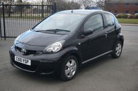 USED 2010 10 TOYOTA AYGO 1.0 BLACK VVT-I 3d 67 BHP 6 Months RAC Nationwide Warranty at Screen Price