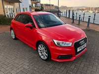 USED 2015 65 AUDI A1 1.6 TDI S LINE 3d 114 BHP 1 OWNER! FACELIFT MODEL!