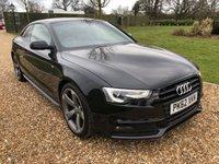 2012 AUDI A5 2.0 TDI S LINE BLACK EDITION 2d 177 BHP £14000.00