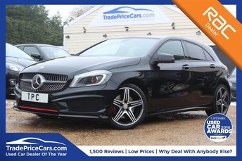 2015 MERCEDES-BENZ A CLASS 2.0 A250 4MATIC ENGINEERED BY AMG 5d AUTO 211 BHP £18500.00