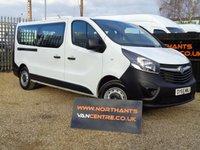 2015 VAUXHALL VIVARO 9 SEAT 1.6 COMBI VAN CDTI 5d 115 BHP £10990.00