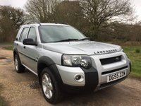 2005 LAND ROVER FREELANDER 2.0 TD4 HSE STATION WAGON 5d AUTO 110 BHP £3490.00