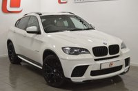 USED 2010 60 BMW X6 3.0 XDRIVE40D 4d AUTO 302 BHP PERFORMANCE PACK + 22 INCH ALLOYS + AKRAPOVIC EXHAUST + FSH