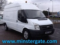 2007 FORD TRANSIT 2.4 350 LWB HR 100 BHP * GENERATOR & COMPRESSOR / MOBILE WORKSHOP * £3990.00