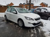 USED 2014 14 PEUGEOT 308 1.6 HDI ACCESS 5d 92 BHP NEW MODEL 308 DIESEL WITH £0 ROAD TAX AND VERY CHEAP TO RUN!..EXCELLENT FUEL ECONOMY!..LOW CO2 EMISSIONS..£0 ROAD TAX...FULL PEUGEOT HISTORY..ONLY 7750 MILES FROM NEW!!