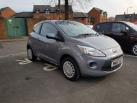 USED 2015 15 FORD KA 1.2 EDGE 3d 69 BHP CHEAP RUNNING COSTS AND LOW INSURANCE!!...EXCELLENT FUEL ECONOMY!..LOW CO2 EMISSIONS..£30 ROAD TAX..FULL HISTORY...ONLY 7507 MILES FROM NEW!