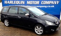 USED 2005 55 MITSUBISHI GRANDIS 2.0 WARRIOR DI-D 5d 135 BHP 2005 MITSUBISHI GRANDIS WARROR 2.0 TURBO DIESEL 7 SEATS FULL BLACK LEATHER STAMPED SERVICE HISTORY IN METALLIC BLACK ALLOYS AIR CON MUST BE SEEN