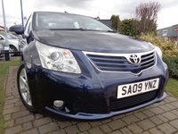 2009 TOYOTA AVENSIS 1.8 TR VALVEMATIC 4d 145 BHP £4689.00